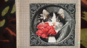 cat needlepoints