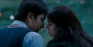Barfi and Shruti kiss scene