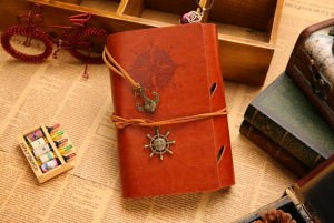 Embossed Small Diary