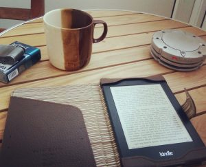 Reading books on my Kindle